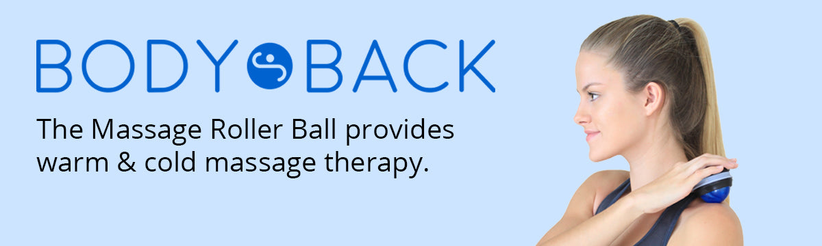 Massage Roller Ball Provides Warm or Cold Therapy