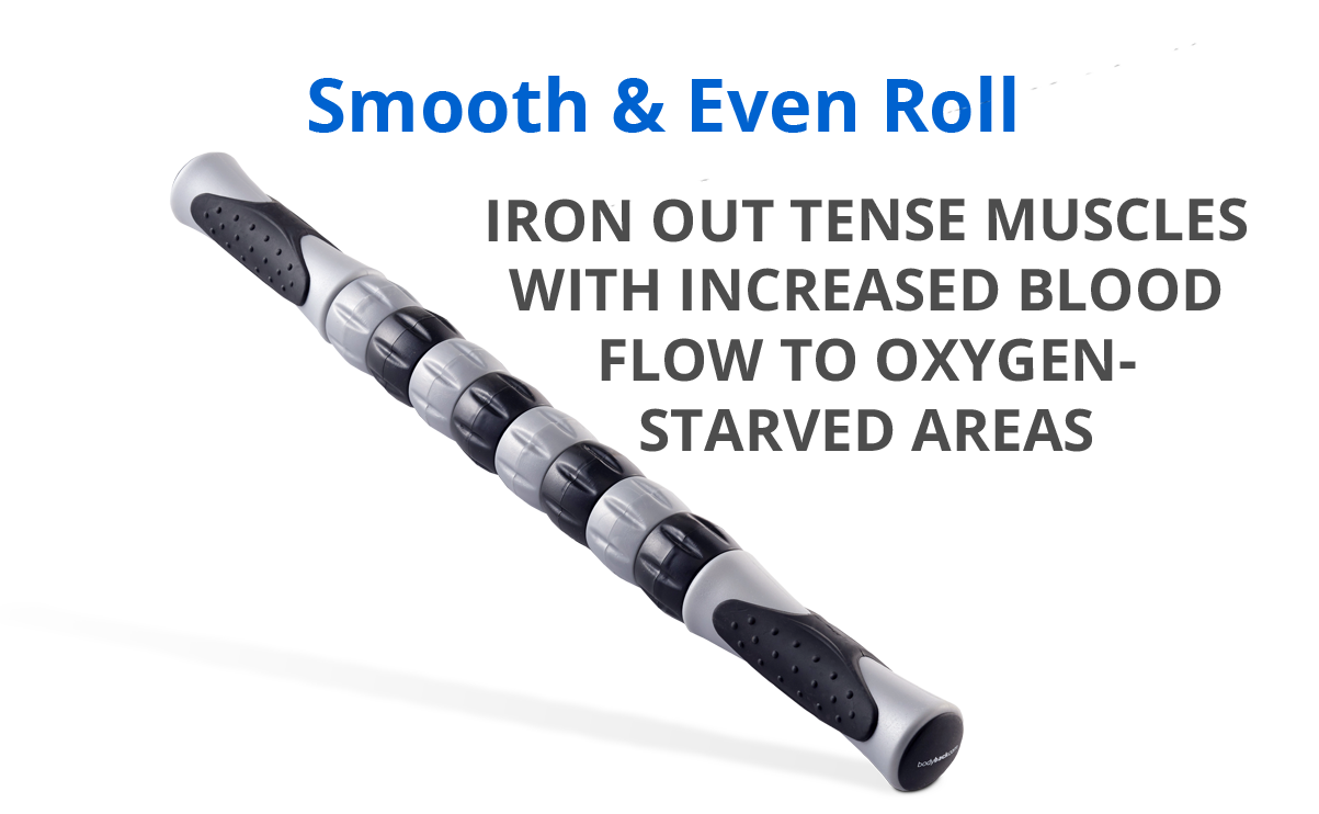 Smooth and Even Roll for the Massage Stick
