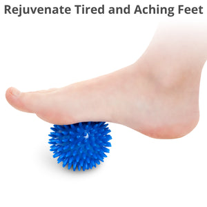 Reflexology Card & Porcupine Massage Ball 3-Pack - Body Back Company