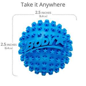 "Body Star 2.5"" Acupressure Massage Ball 2-Pack - Body Back Company"