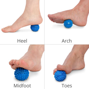 "Foot Star 2"" Acupressure Self Massage Ball - Body Back Company"