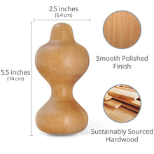 Load image into Gallery viewer, Mini Wooden Back Roller & Body Massager - Body Back Company