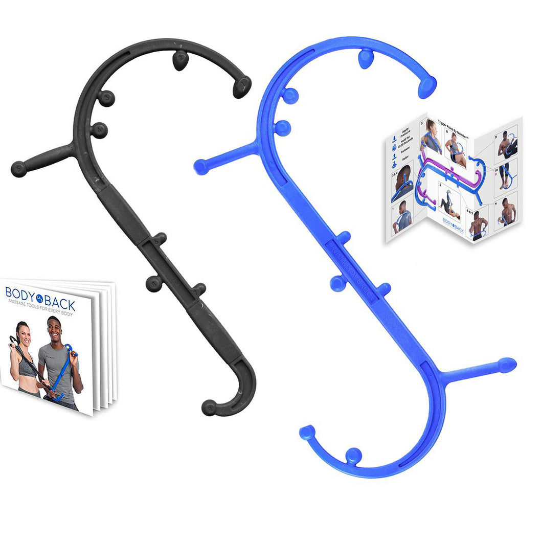 'Every Body Bundle' - Body Back Buddy + Buddy Jr. Trigger Point Back Massagers - Body Back Company