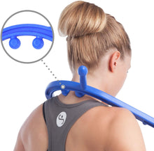 Load image into Gallery viewer, Body Back Buddy Trigger Point Massage Tool and Usage Poster - Body Back Company