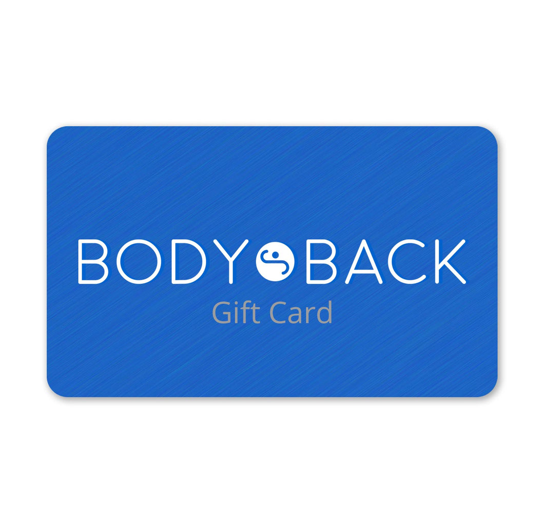 Body Back Gift Card - Body Back Company