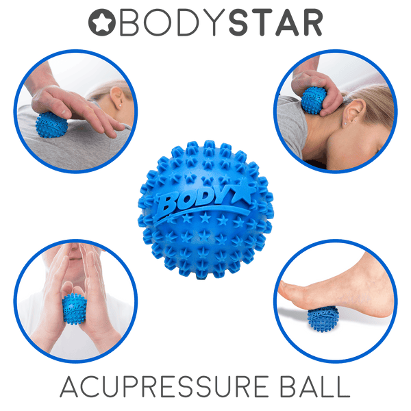 Body Back Buddy Trigger Point Self-Massager Bundle with the Bodystar Massage Ball (Ball Color May Vary) - Body Back Company