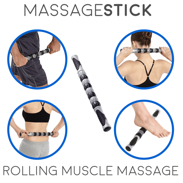 Body Back Buddy Blue Trigger Point Self-Massager with Sports Therapy Muscle Massage Stick 1.0 - Body Back Company