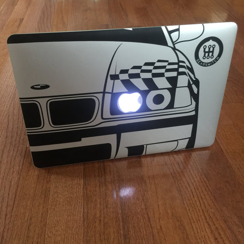 E36 MacBook Decal