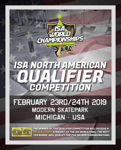 Modern Skate and Surf hosting the ISA North American Qualifier