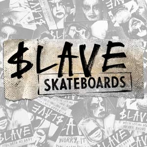 Slave skateboard decks online shipping from Modern Skate and Surf
