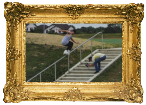 Luke Rappa inline skateam member for modern skate and surf