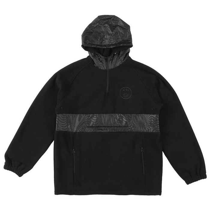 Spitfire Burnout Anorak - Black