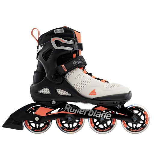 Rollerblade Women's Macroblade 80 W Inline Skates - Grey/Coral