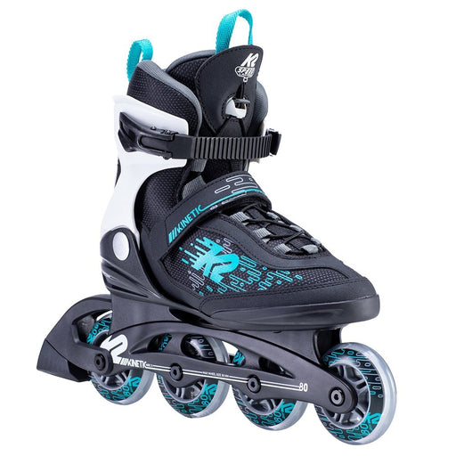 K2 Kinetic 80 Pro Women's Inline Skate 2021 Black Berry