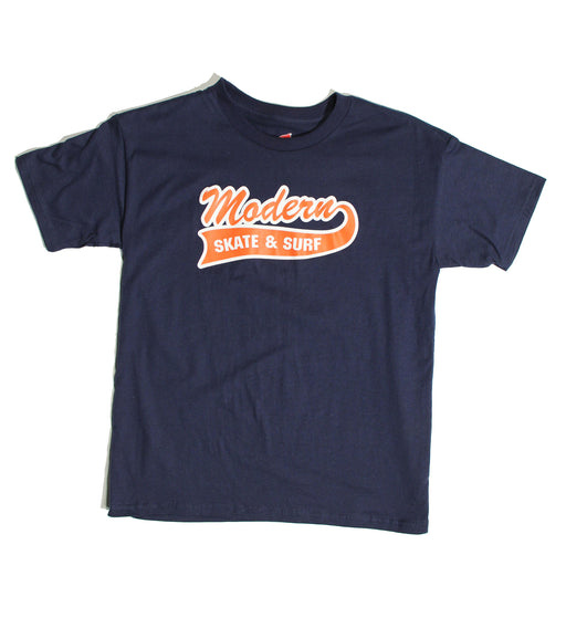Modern Baseball Youth Tee - Navy