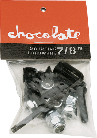 "Chocolate 7/8"" Allen Single Set Hardware"