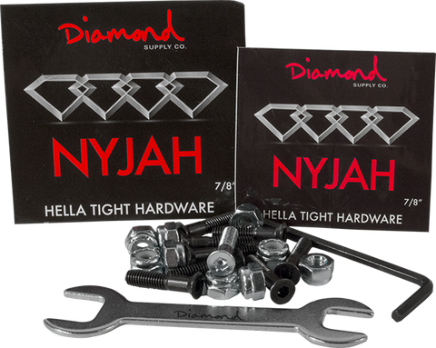 "Diamond Nyjah Huston 7/8"" Allen Hardware 1Set"