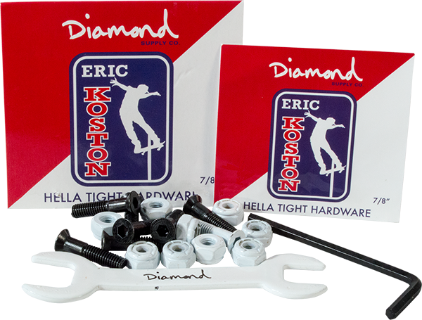 "Diamond Eric Koston 7/8"" Allen Hardware 1Set"
