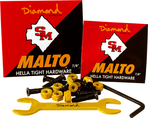 "Diamond Sean Malto 7/8"" Allen Hardware 1Set"