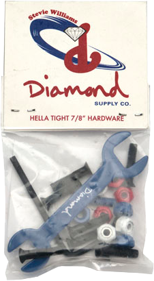"Diamond Williams Hella Tight 7/8"" Allen Hardware"