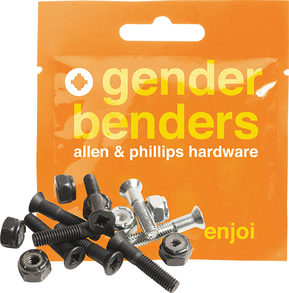 "Enjoi Gender Bender 1"" Allen Hardware -1 Set"