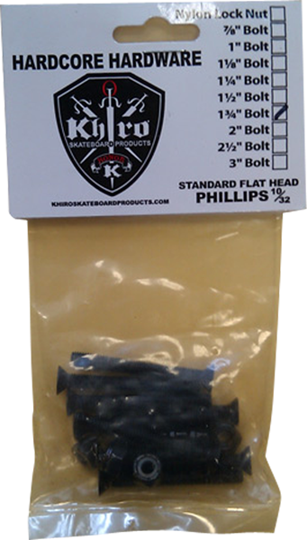 "Khiro Panhead Hardware 1-3/4"" Phillips Single Set"