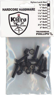 "Khiro Trusshead Hardware 1-1/2""Phillips Single Set"