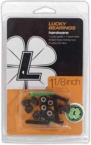 "Lucky Hardware 1 1/8"" Single Set"