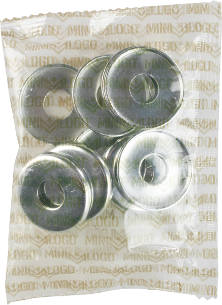 Ml 10/Pack Kingpin Bottom Washer Silver