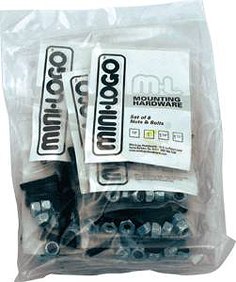 "Ml 10/Pack Hardware 1"" Phillips Black"