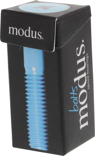 "Modus 1-1/4"" Phillips Hardware Blk/Blue Single Set"