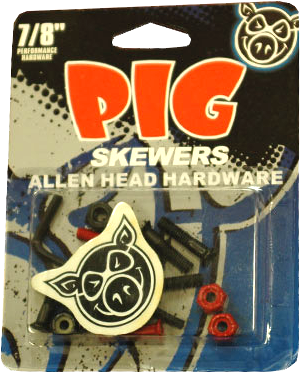 "Pig Skewers 7/8"" Allen Hardware Single Set"