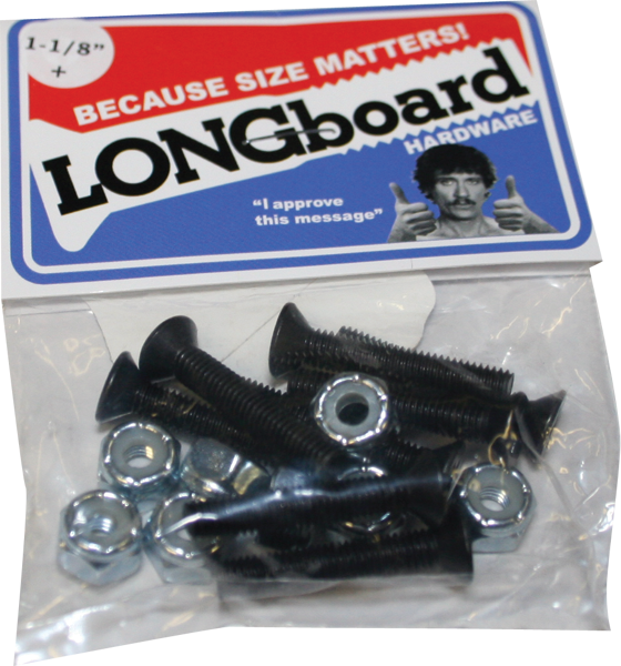 "Shorty's Longboard Hardware 1-1/8"" Ph Single"