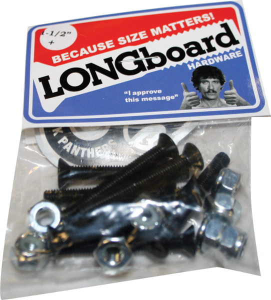 "Shorty's Longboard Hardware 1-1/2"" Ph Single"
