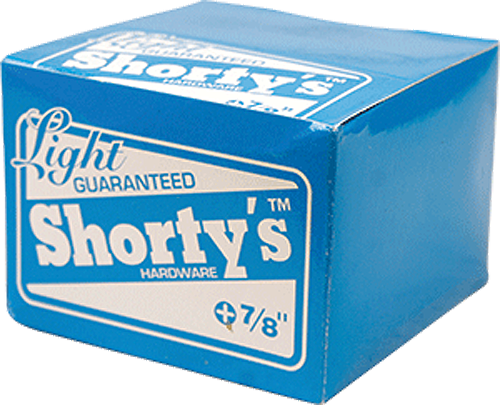 "Shorty's 7/8"" [Allen] 10/Box Hardware"