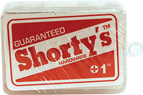 "Shorty's 1"" Red 65/Set Philips Hardware"