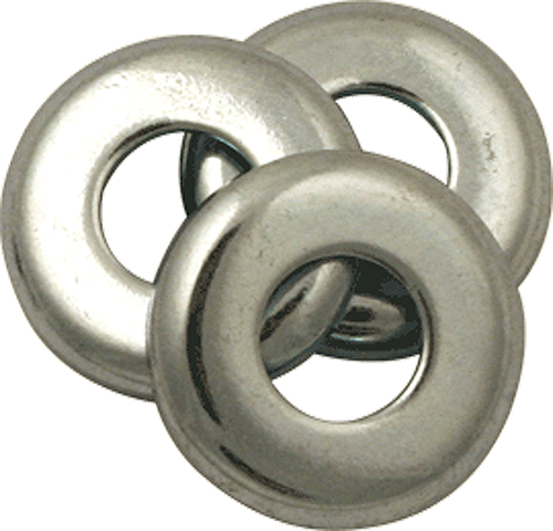 "Standard Top Bushing Washer 3/8""X7/8"" Silver"