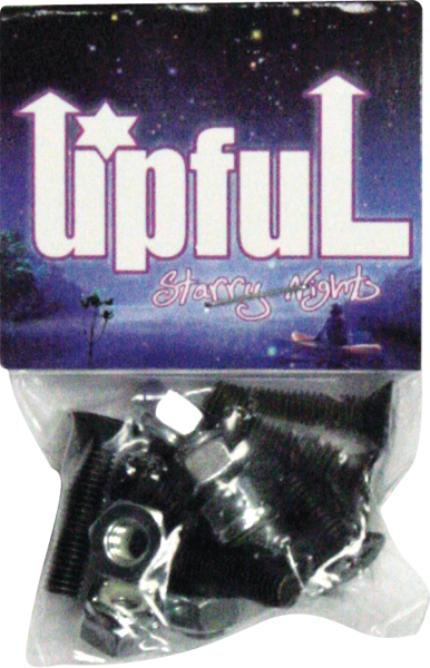 "Upful 1""Ph Starry Nights Hardware Single Setware"