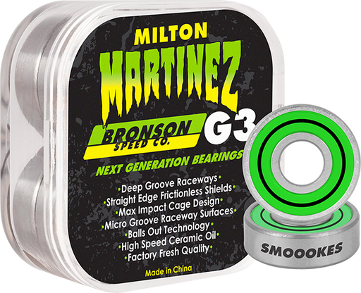 Bronson G3 Milton Martinez Bearings Single Set