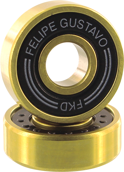 Fkd Gustavo Pro Gold Bearing Set Blk/Gold