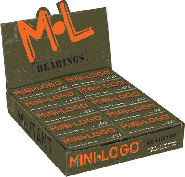 Mini Logo 30/Pack Bearings Ppp