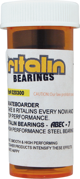 Ritalin Abec-7 Black Bearings Ppp
