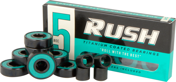 Rush Abec-5 Bearings W/Spacers Ppp