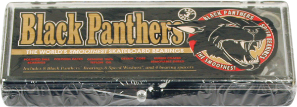 Shorty's Black Panthers Abec-3 Single Set