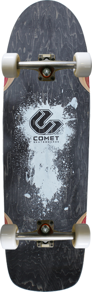 "Comet Shred 33"" Complete-9.5X33 Black"