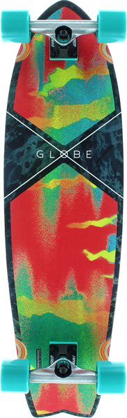 Globe Chromantic Comp-9.7X33 Melted Melon