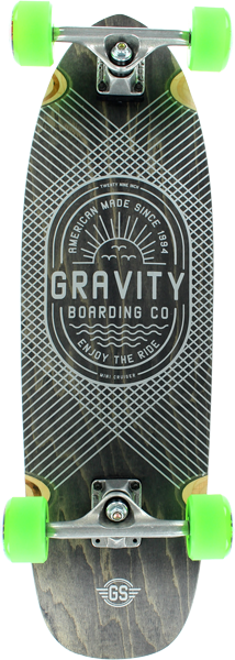 Gravity Mini 29 Enjoy The Ride Complete-8.75X30.12
