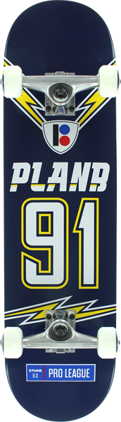 Plan B Charged Complete-8.0 Navy