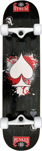 Punked Ace Of Spades Complete -7.75  Ppp