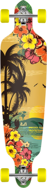 Punked Tropical Day Drp-Thru Complete-9X41 Ppp